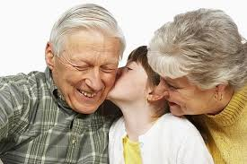 kids with grandparents
