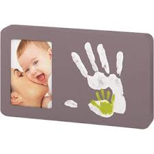 Framed Picture of Baby and Mom
