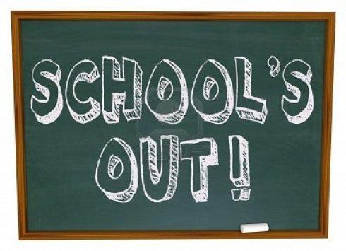 school-s-out-written-on-a-chalkboard