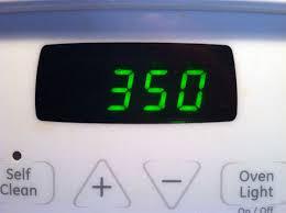 350 degree oven