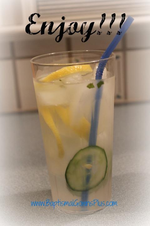detox drink - enjoy
