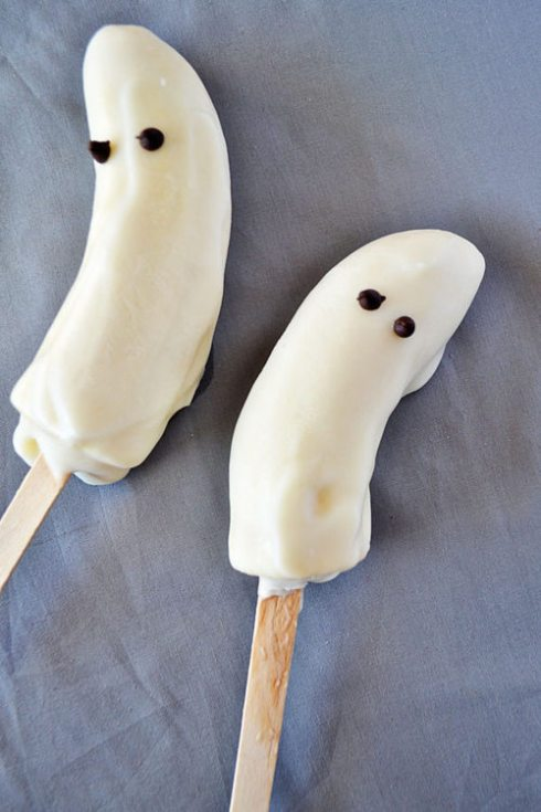 ghost banana pops