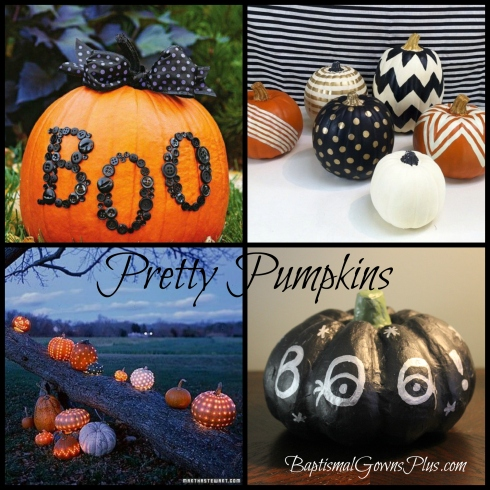 pretty pumpkins collage