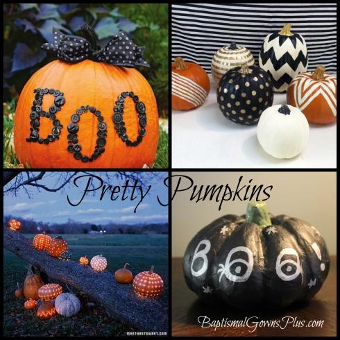 pretty pumpkins collage