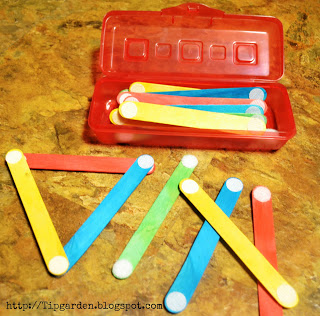 Busy Bag - Velcro Sticks