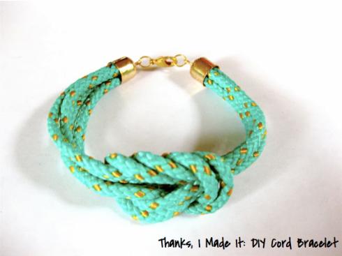 DIY Cord Bracelet