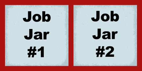 Job Jar Labels
