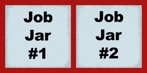 Job Jar Labels